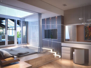 thiết kế phòng ngủ không cần giường (5)