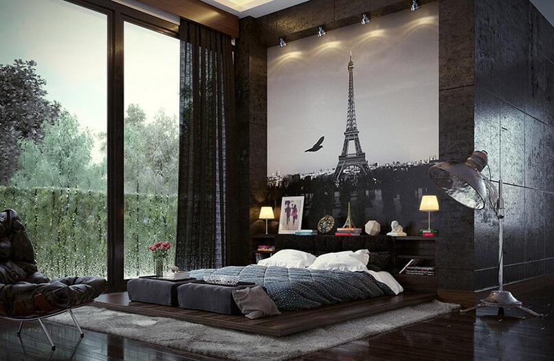 thiết kế phòng ngủ không cần giường (9)