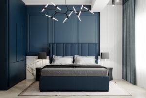 trang trí phòng ngủ màu xanh da trời (10)