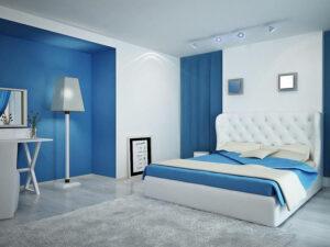 trang trí phòng ngủ màu xanh da trời (11)