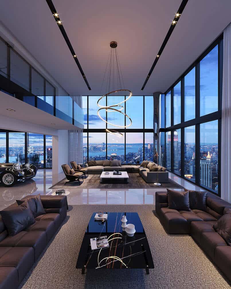 thiết kế nội thất căn hộ duplex (11)